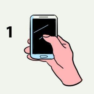 الطريقة التي تمسك بها هاتفك تخبر الكثير عن شخصيتك