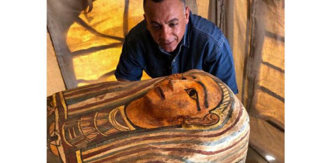 """توابيت فرعونية جديدة """"تظهر إلى العلن """"... ماذا كشف العلماء في مصر؟"""