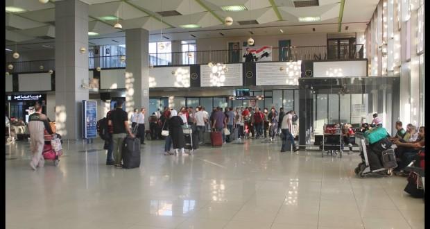 السفر عبر مطار بيروت..مطار دمشق الدولي