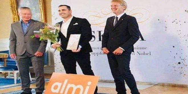 باحث سوري يحصل على أكبر جائزة للابتكار في السويد