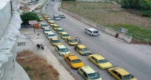 في طرطوس. طابور السيارات على محطات الوقود يصل طوله لـ2 كلم