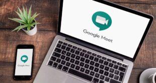 كيفية طمس الخلفية في Google Meet