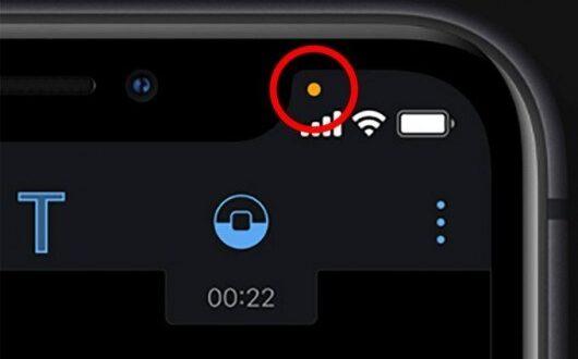 إشارة صغيرة في أجهزة آيفون تكشف وجود برنامج تجسس في هاتفك