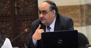 وفاة وزير سوري سابق بعد إصابته بـ كورونا