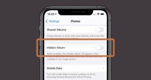 iOS 14: كيفية إخفاء الصور من المكتبة في تطبيق الصور