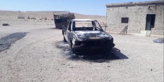استشهاد ٩ مدنيين في هجوم للمجموعات المسلحة بريف سلمية الشرقي