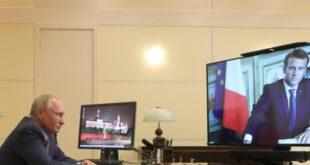 تسريب تفاصيل مكالمة بين بوتين وماكرون يغضب فرنسا
