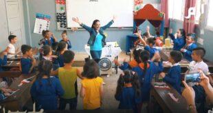 معلمة سورية تبتكر طريقة جديدة في التعليم