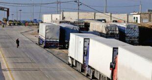 لجنة التصدير المركزية: من الممكن افتتاح معبر جابر الأحد المقبل