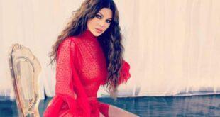 إليكم سعر فستان هيفا وهبي الأحمر الذي أشعل مواقع التواصل الإجتماعي