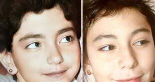 إحدى هاتين الطفلتين هي فنانة سورية شهيرة