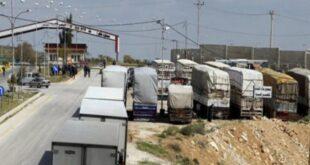لجنة التصدير المركزية تعلن عبور جميع الشاحنات السورية العالقة على الحدود الأردنية