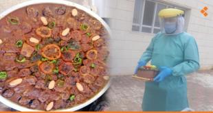 وجبات طعام واحتفالات.. أهالي يبرود يقفون إلى جانب المقيمين في مركز الحجر الصحي