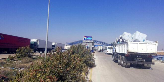 السعودية تسمح للشاحنات السورية عبور أراضيها