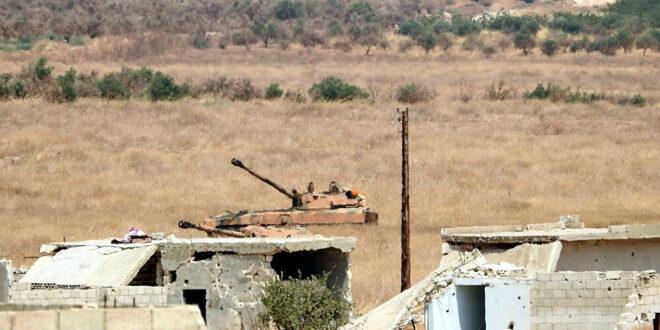 الجيش السوري يتصدى لهجوم عنيف على ريف السلمية