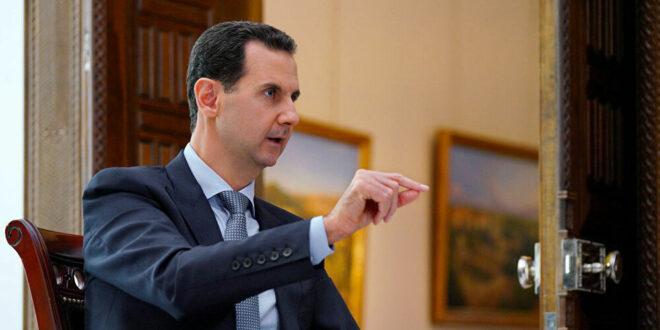 الرئيس الأسد في لقاء لافروف: هناك تقدم نحو التوصل إلى حل مقبول للعديد من القضايا