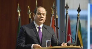 السيسي: الحل السياسي الشامل للأزمة السورية أمر ملح