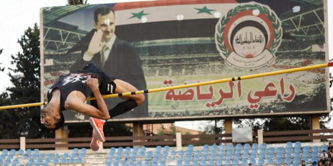 """""""غزال سوريا"""" يتجاوز الـ 2.28 مترا خلال استعدادته لأولمبياد طوكيو... صور"""