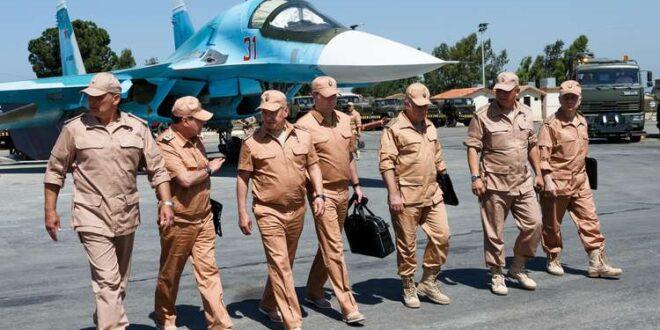 اجتماع ضباط روس وسوريين بدير الزور تحضيراً لعملية عسكرية كبيرة