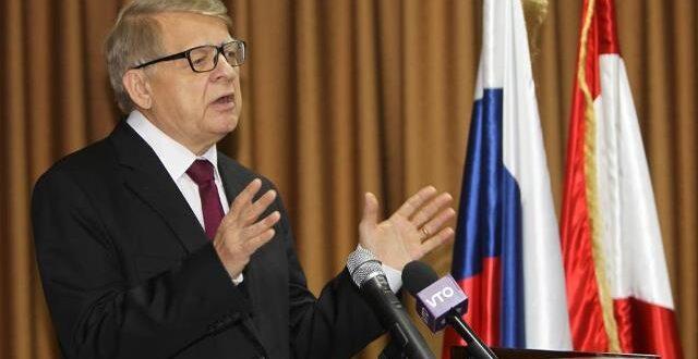 زاسبيكين: سورية شيء مصيري بالنسبة لـ روسيا