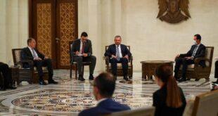 """مفاجأة الوفد الروسي إلى دمشق: """"فك الحصار عن سوريا"""""""