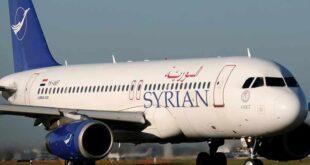الخطوط الجوية السورية تعلن تسيير رحلات جوية من ثلاث دول