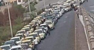 أزمة البنزين في طرطوس