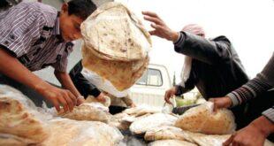 عناصر الرقابة في دمشق يضبطون عدداً من المشرفين وباعة الخبز يتاجرون بالرغيف