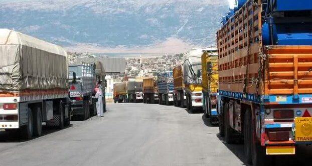 25 شاحنة تعبر «البوكمال» إلى العراق يومياً مقابل 10 شاحنات عراقية تدخل سورية