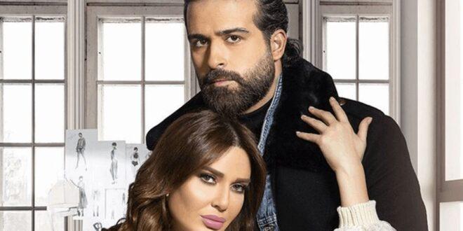 بعد مشهد القبلة مع محمود نصر.. ما موقف زوج سيرين عبد النور؟