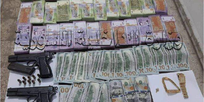 القبض على عصابة تمتهن سرقة المنازل وتصريف العملة الأجنبية في حمص