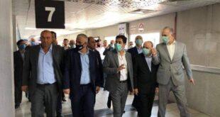 تحضيرات إعادة افتتاح مطاردمشق الدولي في بداية تشرين الأول القادم