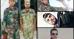 شهداء من الجيش السوري على جبهات إدلب