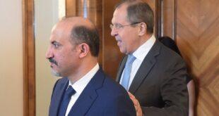 لماذا استضافت موسكو أحمد الجربا؟