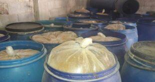 4 طن أغذية فاسدة كانت في طريقها إلى موائد السوريين