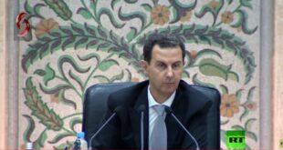 الأسد: الفساد منتشر في المجتمع والقلة الفاسدة هي التي تطغى على السطح