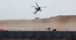 سقوط مروحية أمريكية شمال شرقي سوريا