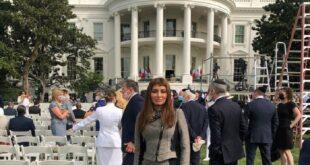 ملكة جمال العراق بصحبة رئيس الموساد