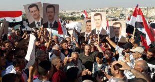 مظاهرات حاشدة في مورك ضد وجود المحتل التركي