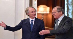هذا ما كشفه لافروف عن جلسة اللجنة الدستورية السورية!