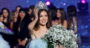 للسنة الثانية مايا رعيدي ملكة جمال لبنان