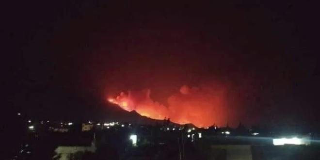 أهالي من مصياف: الحرائق مفتعلة وهدفها الاستيلاء على الأملاك العامة