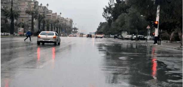 Screenshot 2020 09 10 زخات مطرية في دمشق والمنطقة الجنوبية والحرارة إلى انخفاض تلفزيون الخبر اخبار سوريا