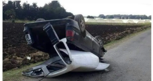 إصابة مواطن بجروح إثر صدم قطار لسيارته في ريف طرطوس