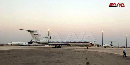 وفد روسي رفيع المستوى برئاسة بوريسوف يصل دمشق... صور