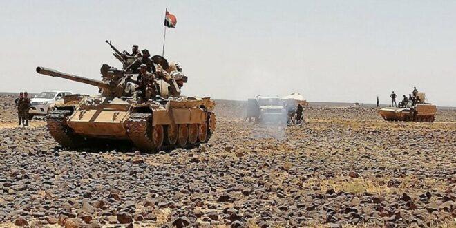 الجيش يتصدى لفلول داعش بعمق البادية ويقضي على عشرات الإرهابيين
