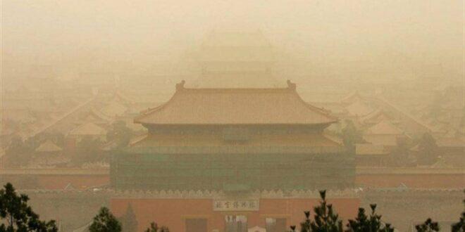 الغبار الأصفر يرعب كوريا الشمالية.. كارثة قادمة من الصين!