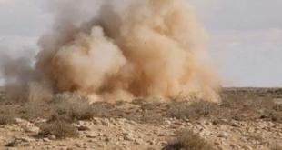استشهاد عامل من مديرية الزراعة وإصابة آخرين بانفجار لغم في ريف دير الزور