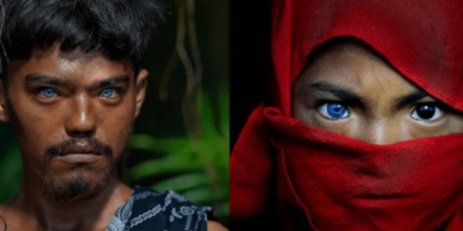 لون عيون قبيلة أندونسية يثير الدهشة.. شاهد!
