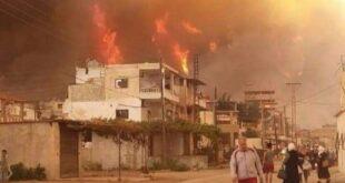 وزير العدل يوجه بتطبيق العقوبة الاقصى بحق متسببي الحرائق